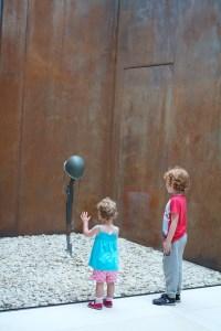 Omaha war memorial helmet and gun