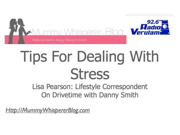 Radio show about stress