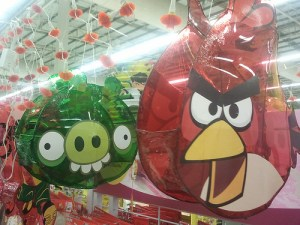 Angry Bird Latern