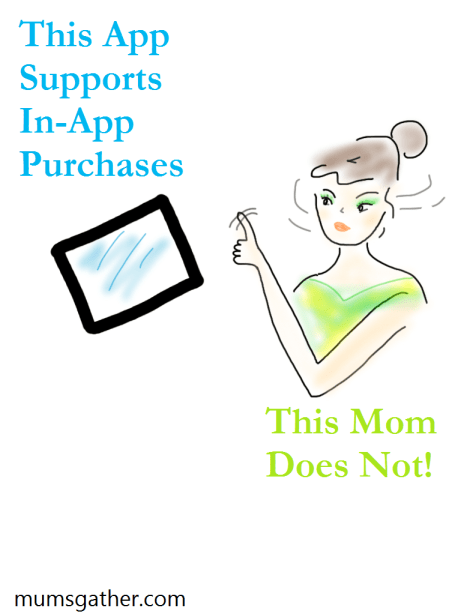 Mom With iPad