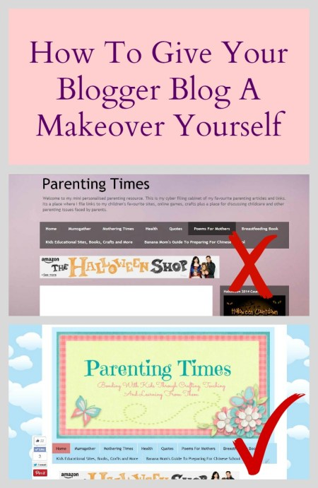 Makeover Blogger Blog