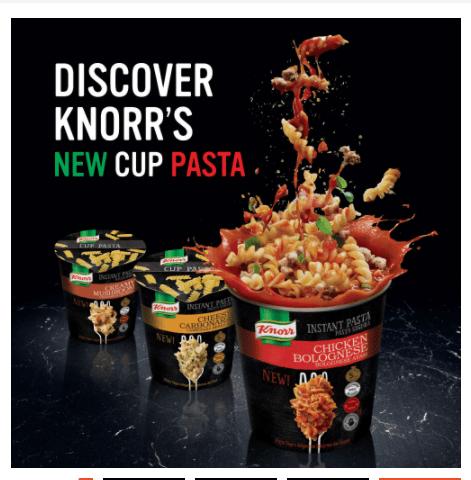 Knorr Instant Pasta