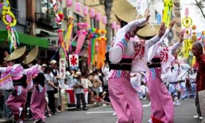 Festival Tanabata no Japão - Dança Bom Odori