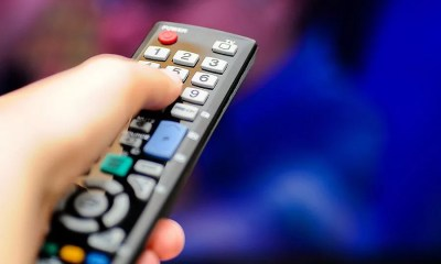 Controle remoto de TV (Foto: Shutterstock)