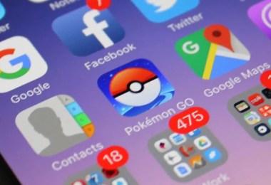Aplicativo Pokémon Go no smartphone (Foto: Reprodução/YouTube)