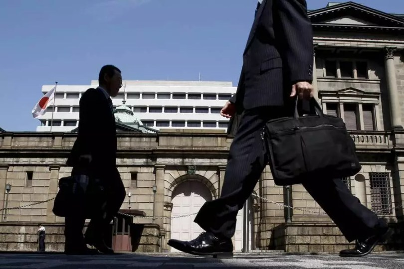 Sede do Banco do Japão (Foto Yuya Shino)