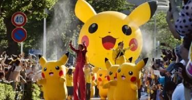 Parada Pokémon 2016, em Yokohama (Foto: Kyodo/Via AFP)