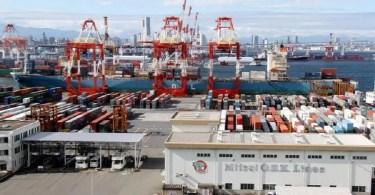 Porto de Yokohama (Foto: TV Asahi)