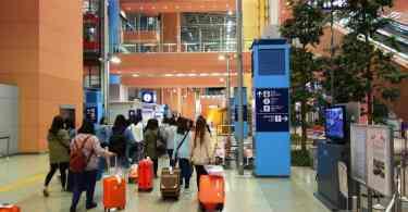 Setor de desembarque do Aeroporto Internacional de Kansai (Foto: Arquivo/FatBoy)