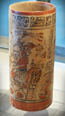 Vaso del Sitio Arqueologico Sacul - Museo Regional del Sureste de Peten - foro por Cultura y Lengua Maya