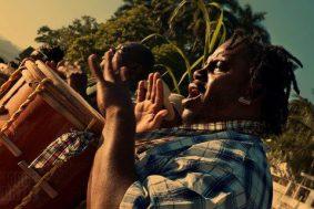 Celebrando Yurumein en Livingston, Izabal - foto por Jorge Ortiz