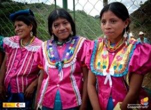 rostros 12 - Traje típico de Jocotán - Chiquimula - Carlos Zaparolli