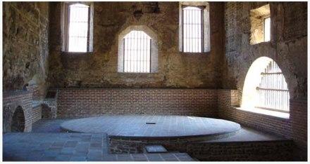 Museo del Trapiche, entradas de luz en su interior - foto por Luis Castellanos