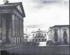Localidad del Teatro Zarco en 1940 - enviada por Jorge Perez
