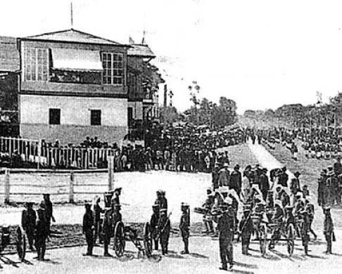 Desfile de las Fiestas Minervas
