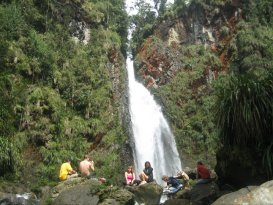 Catarata Rubel Chaim en Ram Tzul
