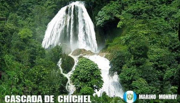 Catarata de Chichel, San Juan Cotzal, Quiche - foto por Marino Monroy
