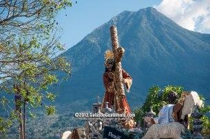 Procesión de Jesús Nazareno del Perdón, Antigua Guatemala - foto Maynor Marino Mijangos