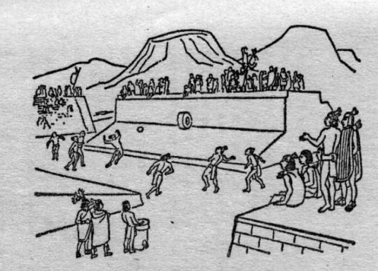 El Juego de Pelota de Los Mayas mundochapin imagen