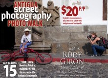 Evento – Photo Walk (Street Photography in Antigua Guatemala)