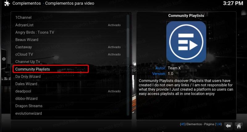 lista total play 8 communtity pl