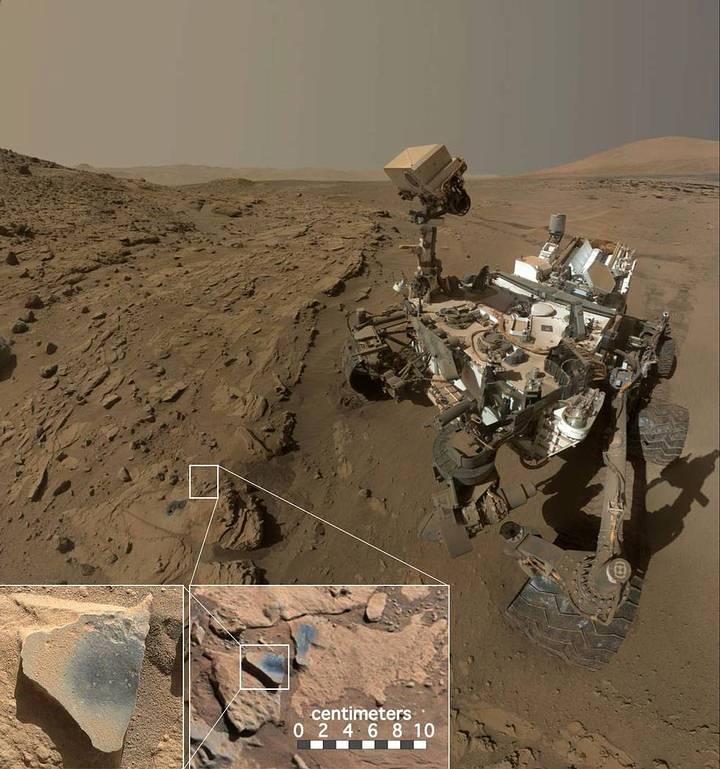curiosity-manganeso-oxigeno Marte tuvo una atmósfera «respirable» en su pasado