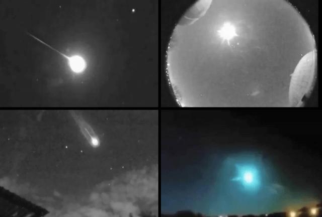 Cientos de Bolas de Fuego en el Cielo Captadas por las Sky Cámaras de la NASA