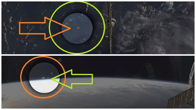 FotorCreated34 Extraños Objetos UFO Son Captados Orbitando la Tierra por la ISS .