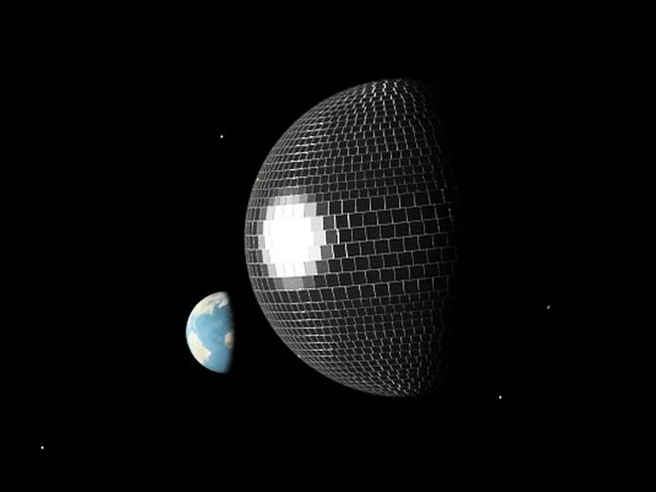 bola-disco La bola disco podría ser la clave para el viaje interestelar