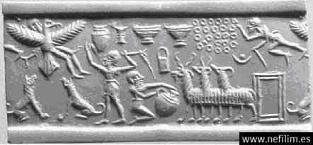 0ancient-seal La Lista de Reyes Sumerios que abarca Más de 241.000 Años Antes del Gran Diluvio