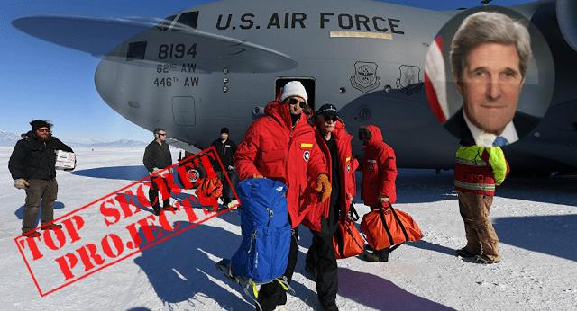 La Misteriosa Visita de John Kerry a la Antártica: ¿Encubrimiento de Bases UFO y Secretos del Pasado?