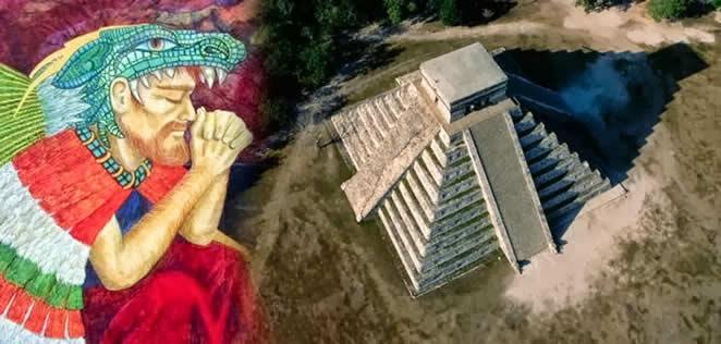 1383914_646923775338591_615595718_n Los dioses de piel blanca de América: #Viracocha, #Quetzalcoatl y #Kukulkan. Una conexión #extraterrestre