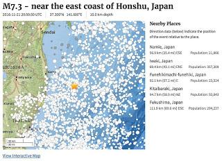 3AA2714400000578-3958936-A_map_shows_the_epicentre_of_the_earthquake_marked_with_a_star-a-26_1479804255390 TERREMOTO, TSUNAMIS... E INCLUSO UN METEORITO IMAGENES DE VIDEO CAPTAN PODEROSO TEMBLOR DE MAGNITUD 7.4 CERCA DE FUKUSHIMA Y OBJETOS EN LLAMAS SOBRE EL CIELO DE JAPON