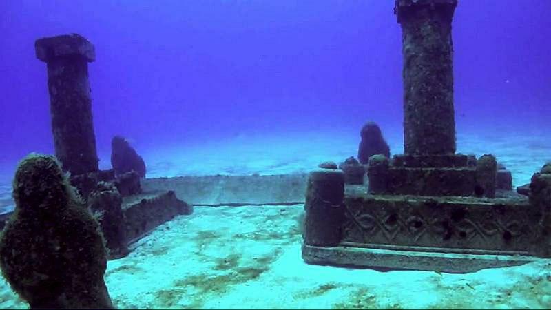 Dwarka-Gulf-of-Cambay-India-4 Las 5 ciudades olvidadas bajo las aguas