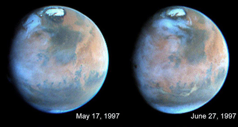 Marteverdaderoscolores1 ¿En 1976 NASA ya sabía que había vida en Marte