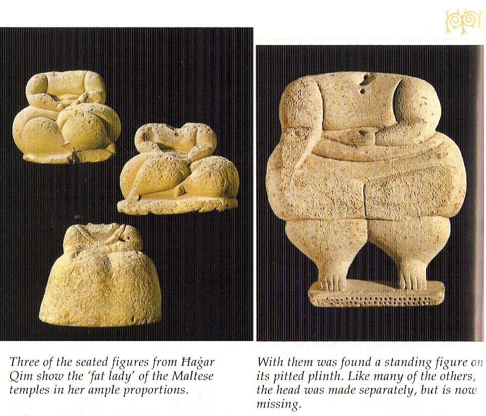 fat02 Templos IMPOSIBLES de una religión PREHISTÓRICA anterior a Adán: Los templos de Hagar Qim en Malta