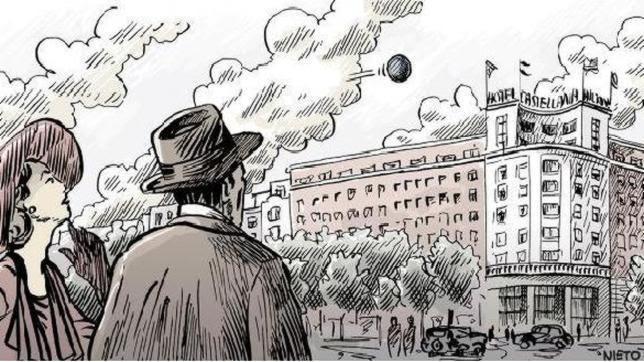 Esfera negra en los cielos del Madrid de 1955
