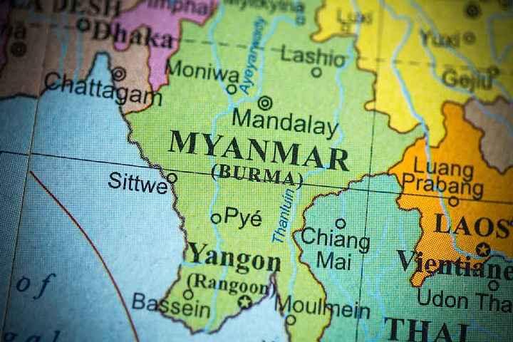 Misterioso objeto no identificado se estrella en Birmania