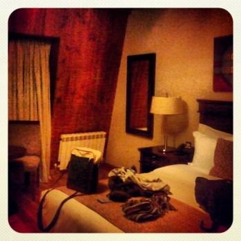 habitación hotel Alma del Lago