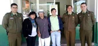 Lajinos se reencuentran tras 50 años de separación gracias a la gestión de Carabineros
