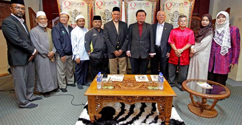 sidang media waqaf quran