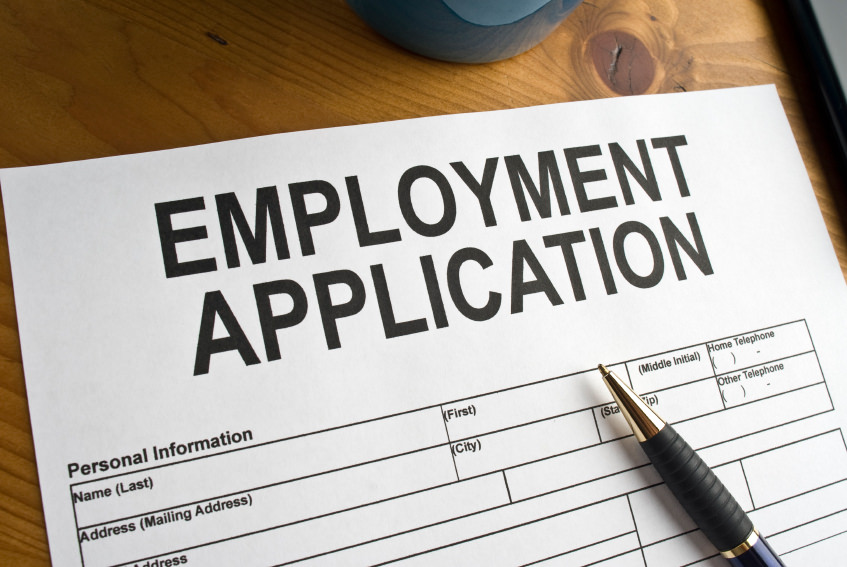 Photo of employment application Murphy, Campbell, Alliston & Quinn