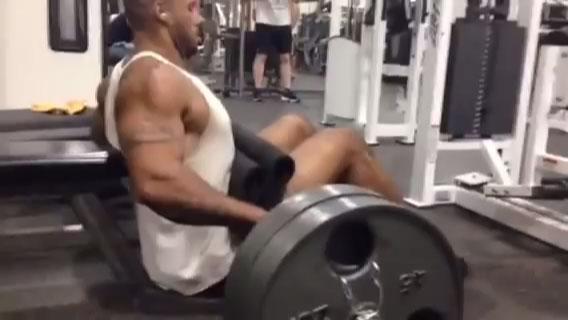 Muscle God Samson Barbell Hip Trust