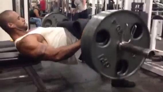 Muscle God Samson Barbel Hip Trust 2