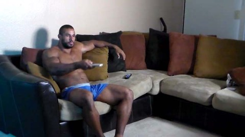 bodybuilder jerking off 4 photo