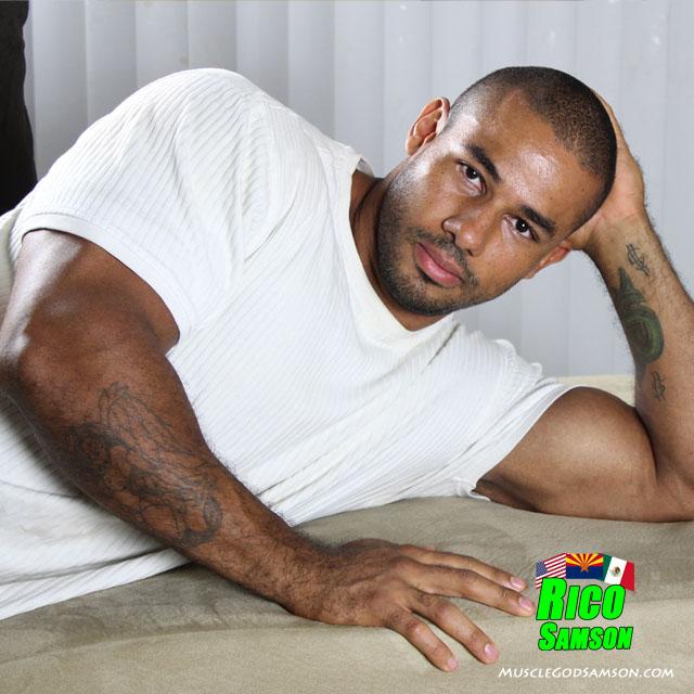 black bodybuider rico samson photos 5