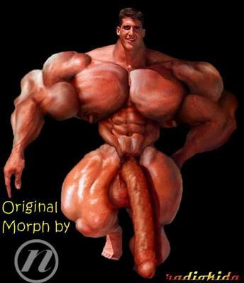 morphed biceps