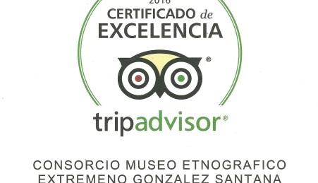"Museo Etnográfico ""González Santana"". Olivenza. Extremadura. Certificado de Excelencia Trip Avdvisor 2016"