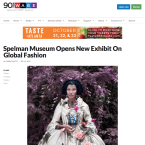 WABE Review: Spelman Museum Opens New Exhibit On Global Fashion