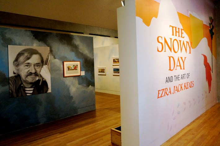 The Snowy Day exhibition entrance, Skirball L.A.